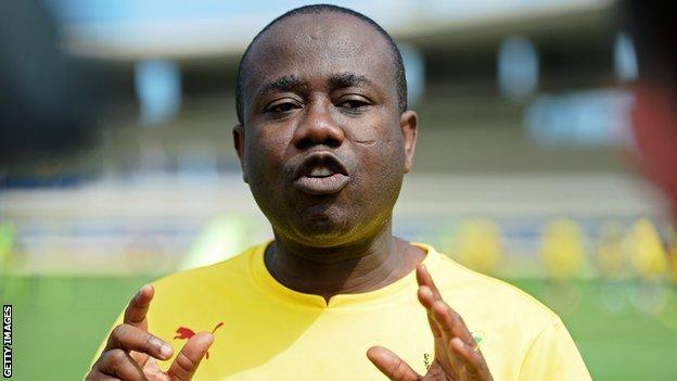 GFA president Kwesi Nyantakyi
