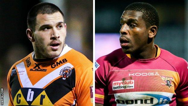 Justin Carney and Jermaine McGillvary
