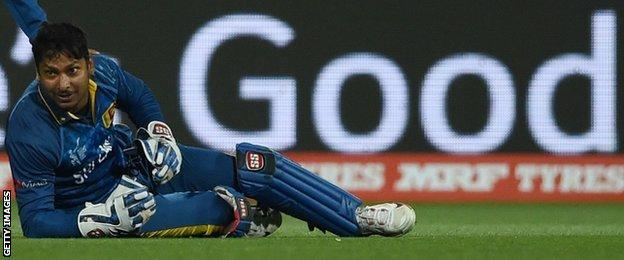 Sri Lanka batsman Kumar Sangakkara