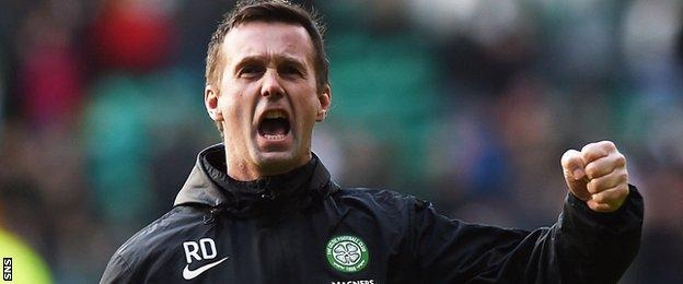 Deila's Celtic are on course for a treble