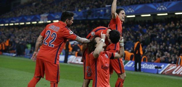 Chelsea v Paris St-Germain