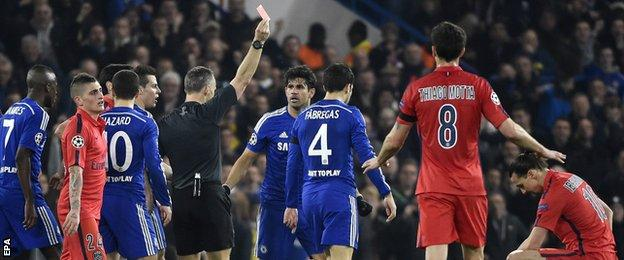 Chelsea v PSG - Zlatan Ibrahimovic