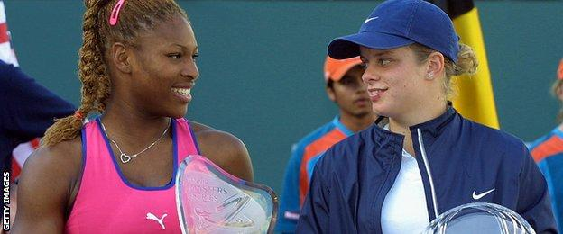 Williams and Clijsters