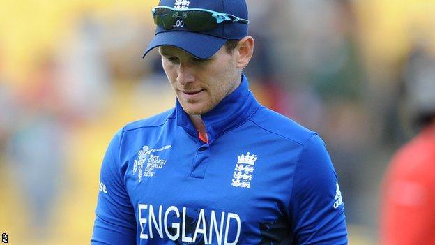 England World Cup captain Eoin Morgan