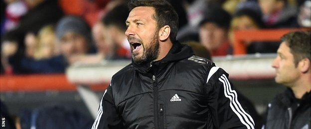 McInnes' side have suffered just one defeat in their last 14 Premiership matches