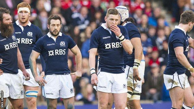 Scotland welcome fly-half Finn Russell back from a ban as they seek a first Six Nations win