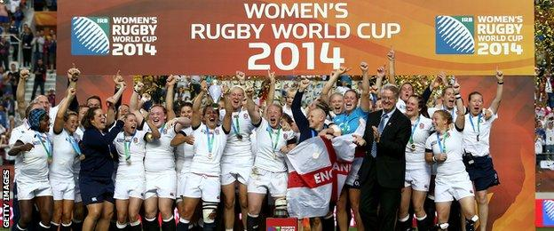 England women's rugby union team