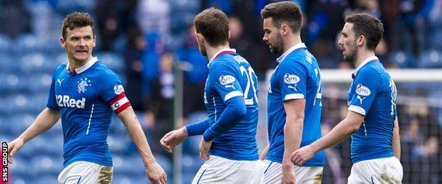 Rangers drew 1-1 with Livingston on Saturday