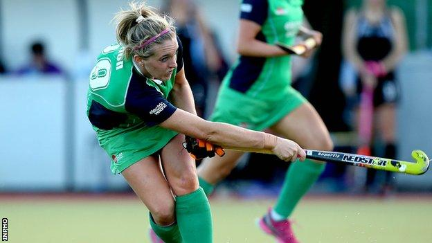 Kate Dillon scored in Ireland's 2-1 win over Canada on Sunday