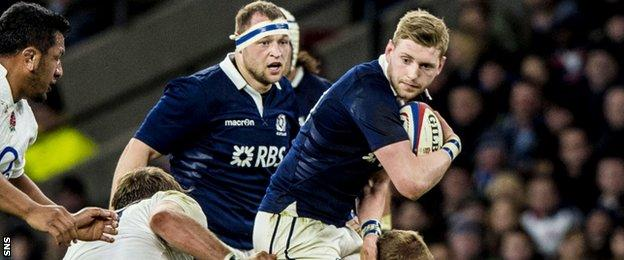 Finn Russell is an ever improving player for Scotland.