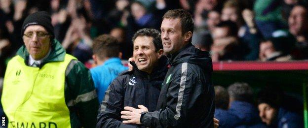John Collins and Ronny Deila have seen their Celtic side improve as the season has progressed