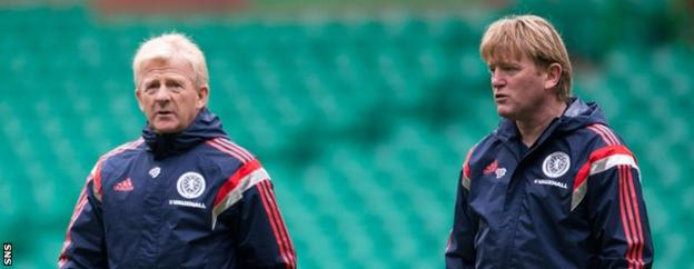 Strachan added McCall to his coaching staff shortly after being named Scotland manager in January 2013