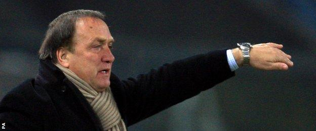Former Netherlands coach Dick Advocaat