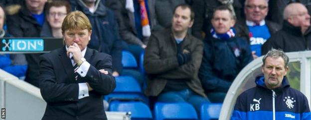 McCall watched his side struggle in his first match in charge, a 1-1 draw with Livingston