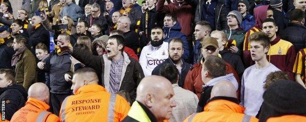 Bradford fans