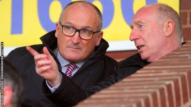 Rod Brown (left)