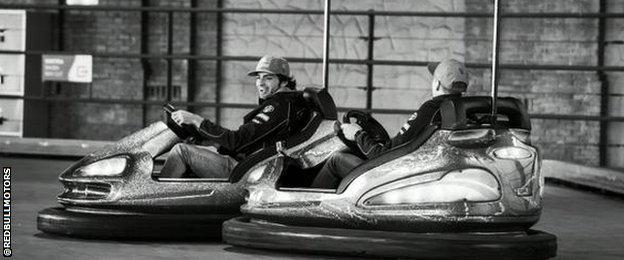 Carlos Sainz and Max Verstappen