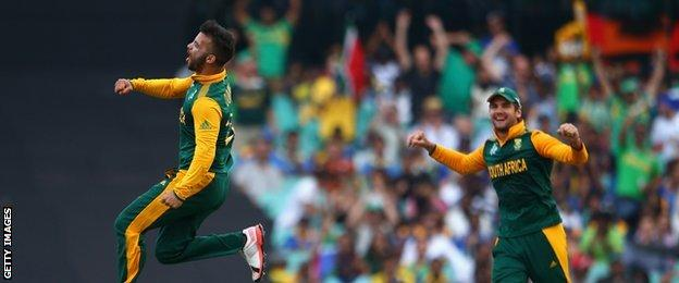 South Africa all-rounder JP Duminy