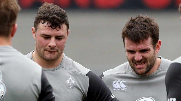 Robbie Henshaw and Jared Payne