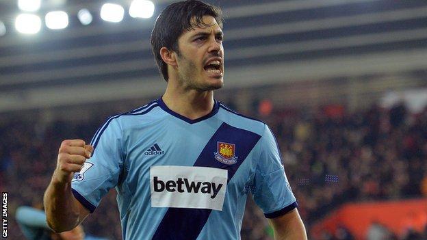West Ham's James Tomkins