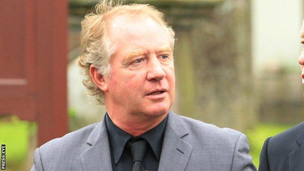 Jimmy Nicholl was part of Northern Ireland's World Cup squad at the 1982 and 1986 finals