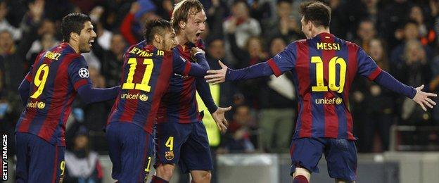 Barcelona's front three