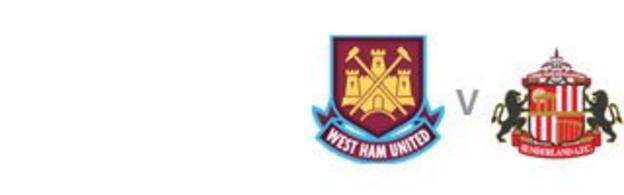 West Ham v Sunderland