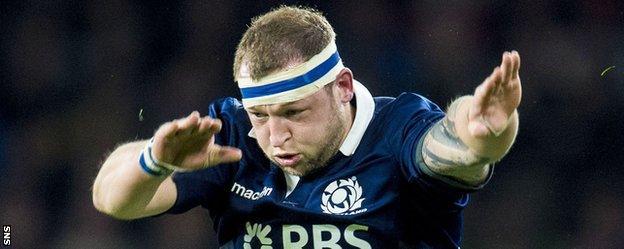 Scotland forward Ryan Grant