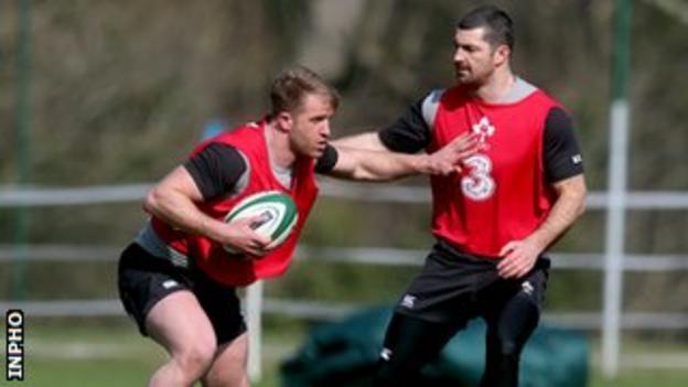 Luke Fitzgerald makes long-awaited comeback for Ireland on Saturday