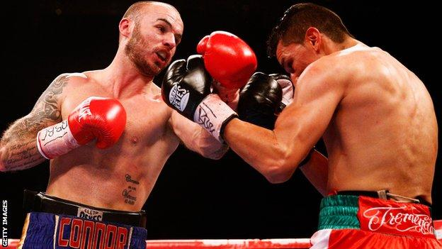 Kevin Mitchell fought Daniel Estrada in January