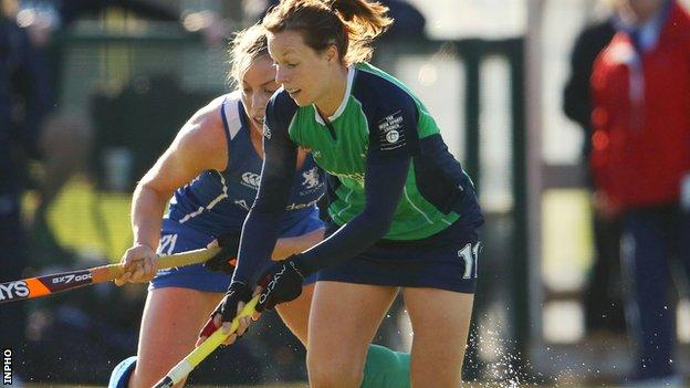 Megan Frazer scored a goal in Ireland's 2-0 win over Lithuania