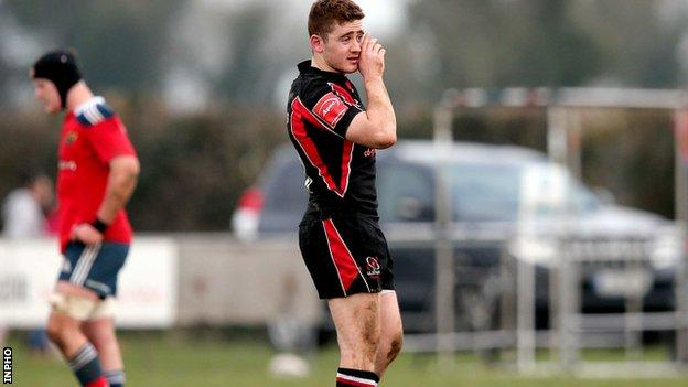 Paddy Jackson stepped up his injury comeback by playing for Ulster Ravens on Thursday