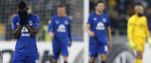 Everton frustrated
