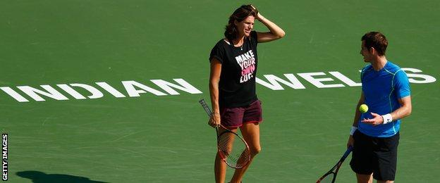 Amelie Mauresmo Andy Murray