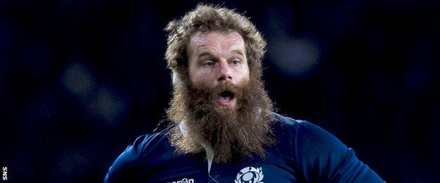 Scotland prop Geoff Cross