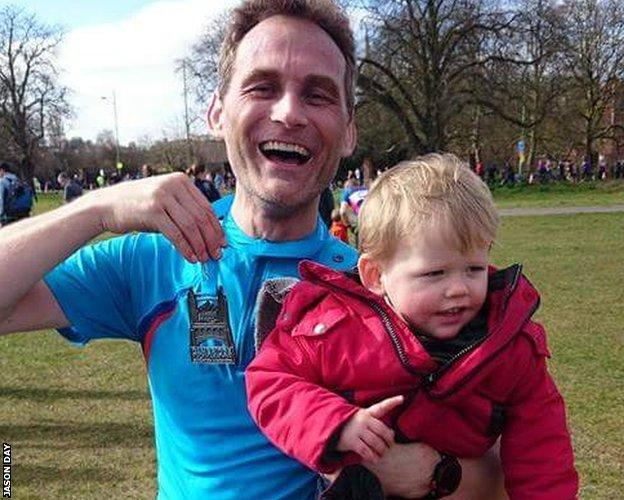 Cambridge half marathon 2 weeks ago, smashed pb...all those 5am runs worth it