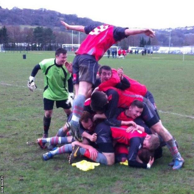 Rob Bailey: Doesn't get better than this. USW 3rds winning their first ever BUCS title