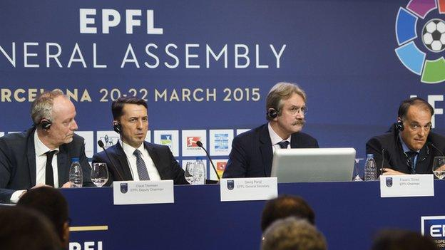 European Professional Football Leagues general assembly
