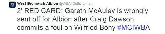 West Brom twitter