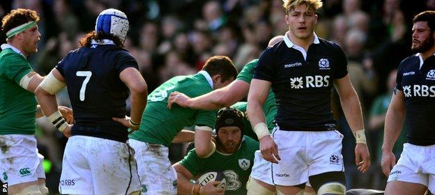 Six Nations: Scotland v Ireland
