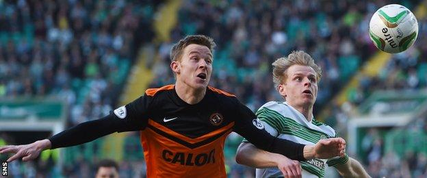 Celtic's Gary Mackay-Steven was a pivotal figure against his old club.