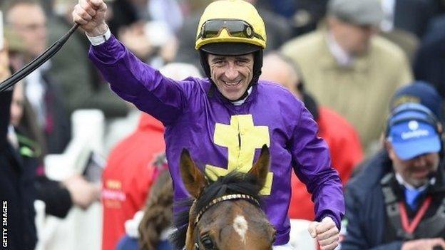 Jockey Davy Russell