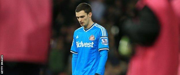 Adam Johnson, Sunderland winger
