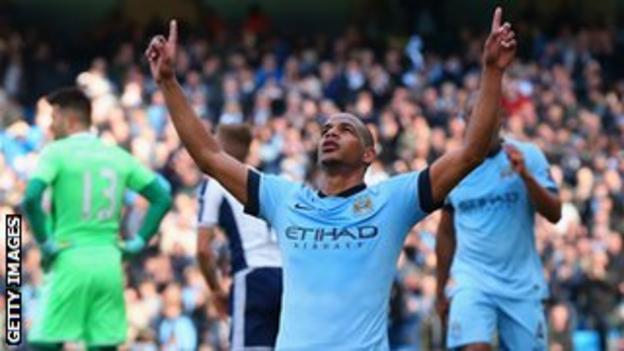 Man City's Fernando