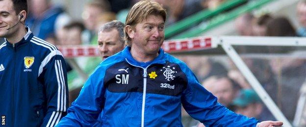 Stuart McCall at Easter Road