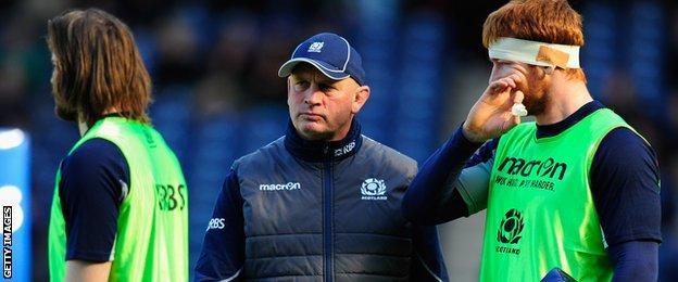 Vern Cotter, Scotland coach