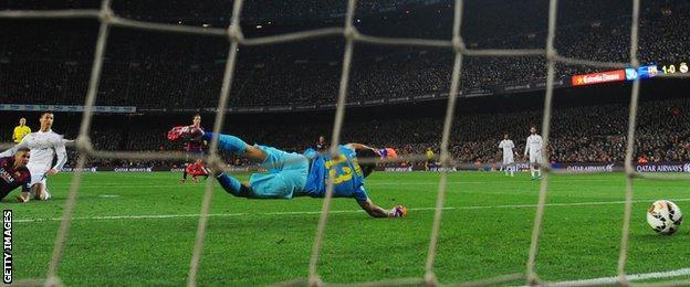 Barcelona v Real Madrid: Cristiano Ronaldo