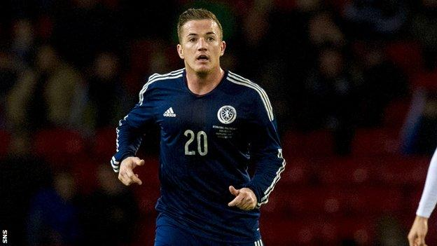 Ross McCormack has been capped 11 times for Scotland
