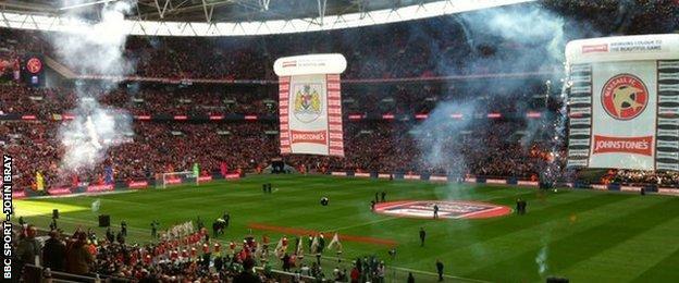 Walsall at Wembley
