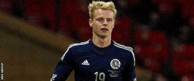 Gary Mackay-Steven has made just one appearance for Scotland